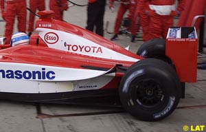 Toyota at Silverstone earlier this year