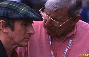 Jackie Stewart and Ken Tyrrell