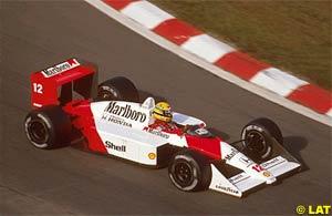 Driving the McLaren in 1988