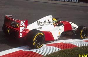 Senna at Spa, 1993
