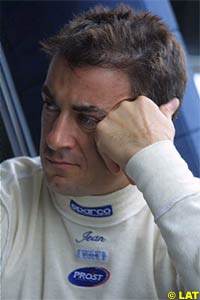 Alesi is considering his options for the future