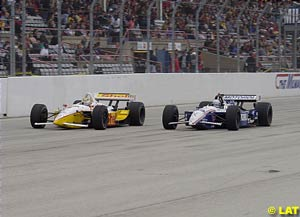 Brack and Andretti fight for the lead