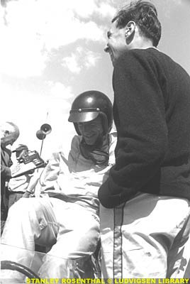 Dan Gurney and Jim Clark, 1963