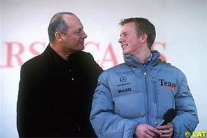 Ron Dennis and Raikkonen