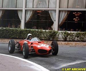 Phil Hill at the Monaco GP 1962