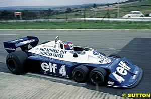 The Tyrrell P34 in South Africa, 1977