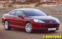 Peugeot 407 Coupe Previewed