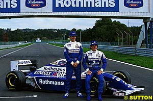 Launch of the 1994 Rothman Williams Renault