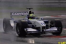 Ralf Schumacher, today at Monza