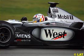 Alex Wurz at Silverstone
