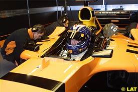 Frentzen Leads the Way at Silverstone